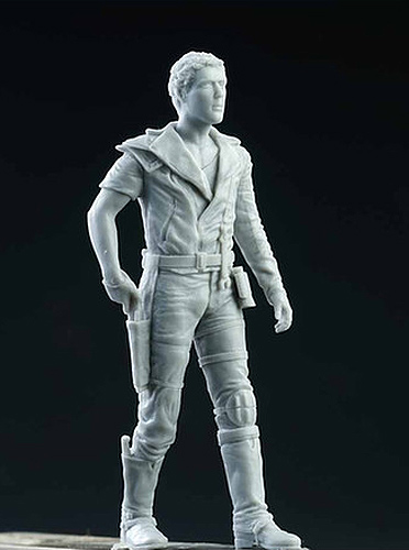Road Warrior Mad Max 1/24 Scale Super Detailed Figure Model Kit from Japan