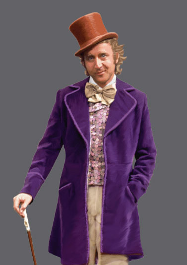 Willy Wonka Gene Wilder 1/6 Scale Figure by Molecule 8