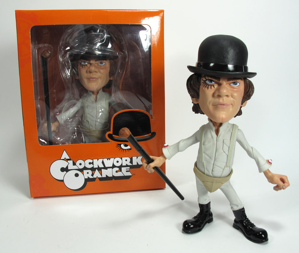 Clockwork Orange Alex Stylized Figure-Mezco