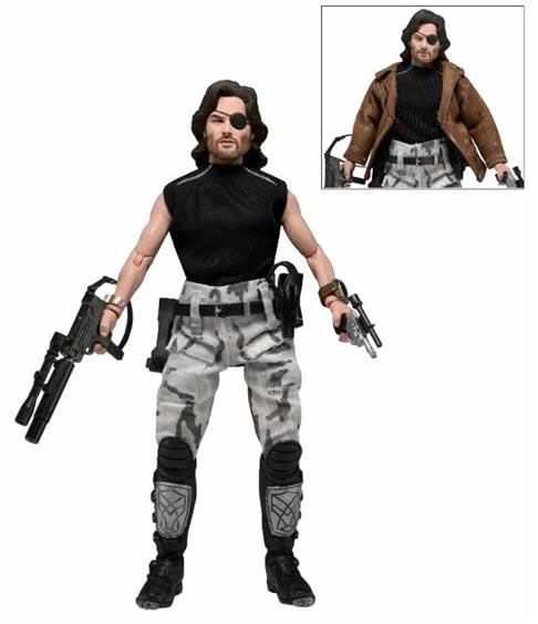 "Escape From New York Snake Plissken 8"" Clothed Retro Mego Style Figure"