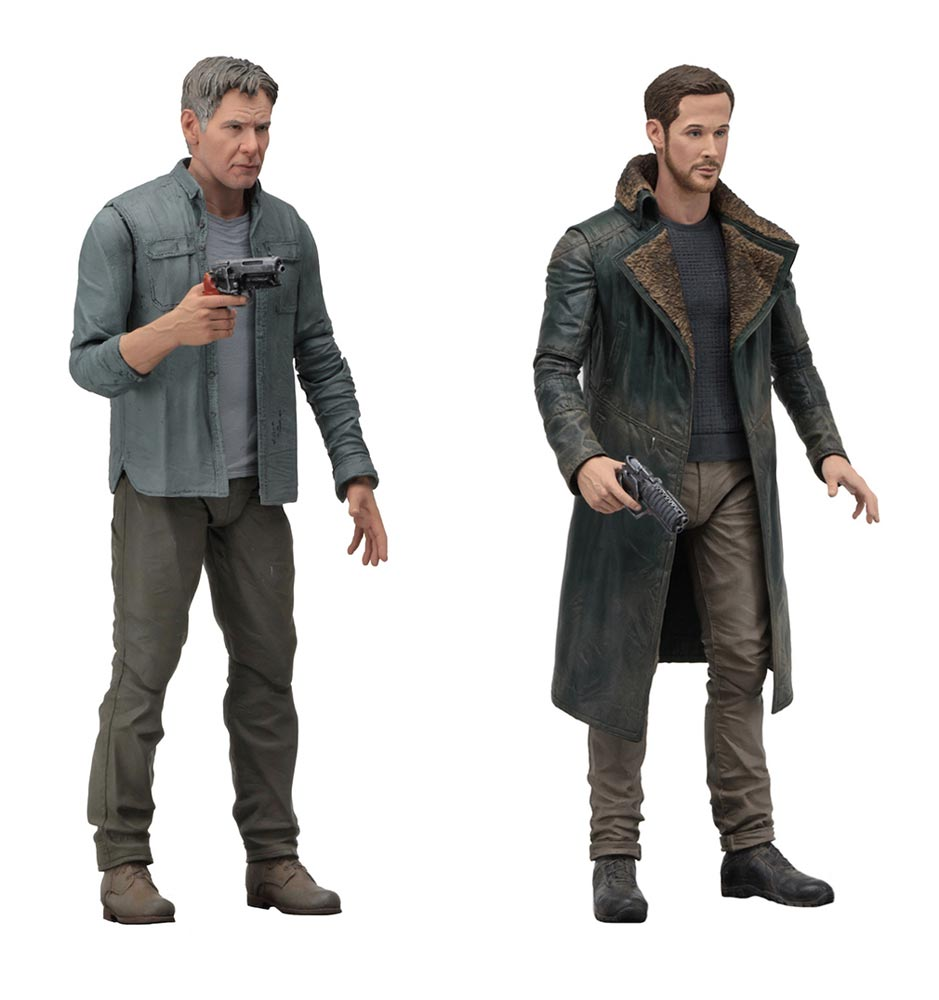 "Blade Runner 2049 7"" Action Figures Series 1 Set of 2 Deckard and Officer K"