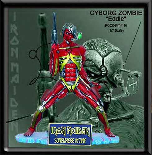 Iron Maiden Eddie Cyborg Zombie 1/7 Scale Model Kit