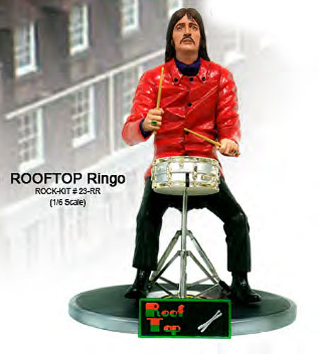 Rooftop Fabs Ringo 1/6 Scale Figure Model Kit