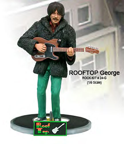Rooftop Fabs George 1/6 Scale Figure Model Kit