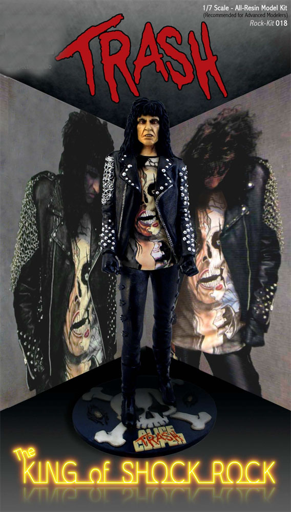 Alice Cooper Trash 1/6 Scale Resin Model Kit