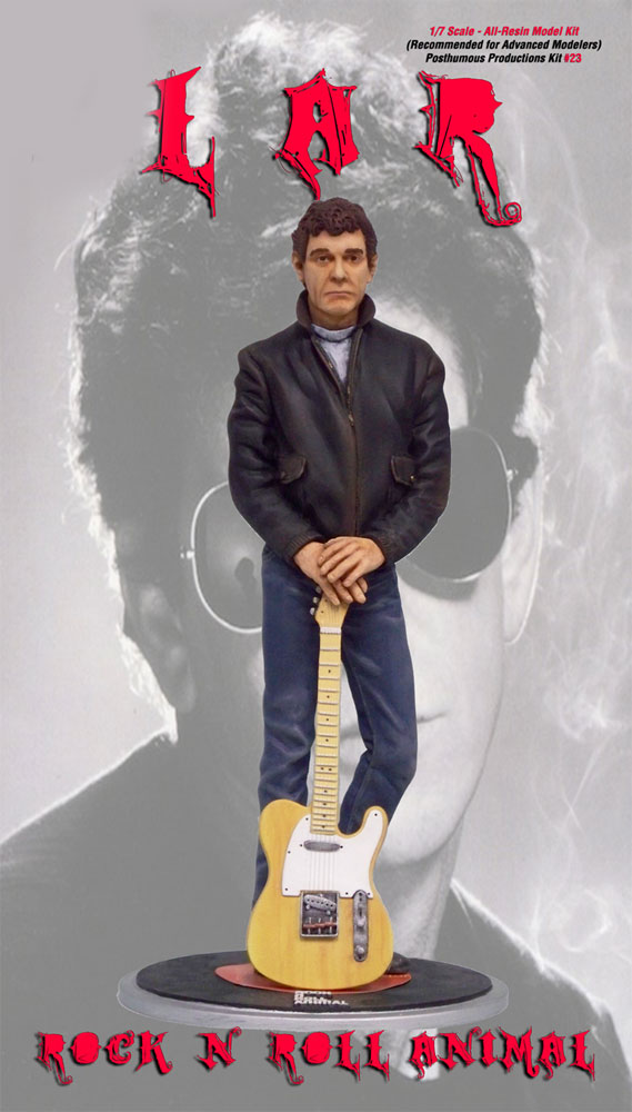 Lou reed rock n roll animal 1 7 scale model kit rock n - Rock n roll mobel ...