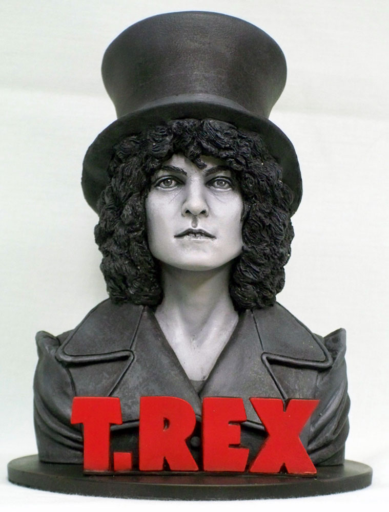 T. Rex The Slider Marc Bolan Bust Resin Model Kit