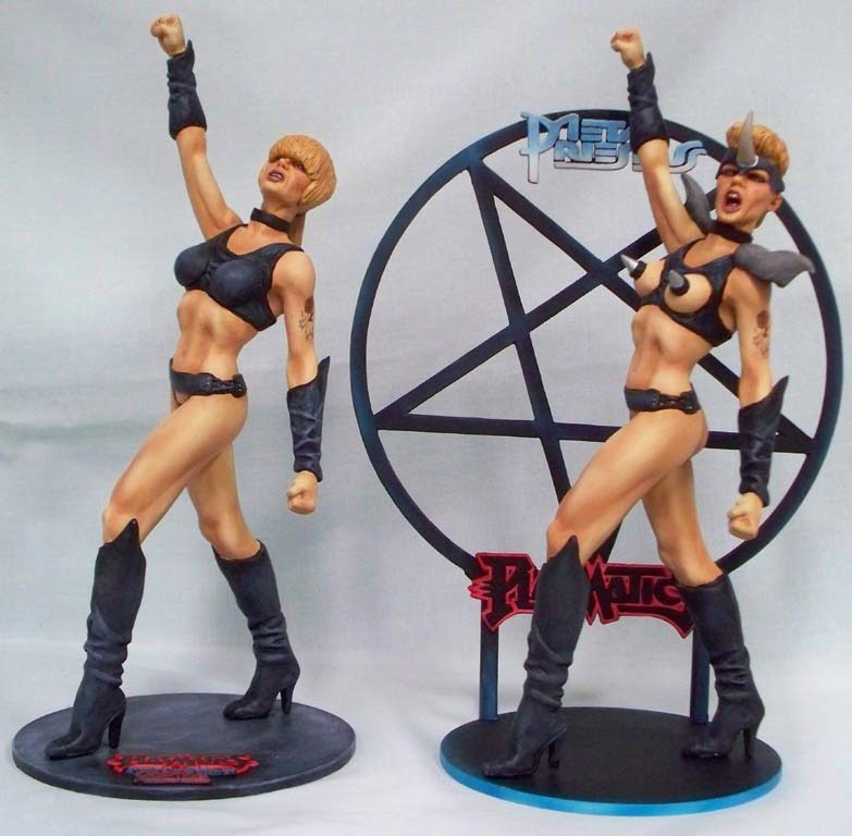 Wendy O. Williams Metal Priestess / Reform School Girl 1/7 Scale Figure Model Kit