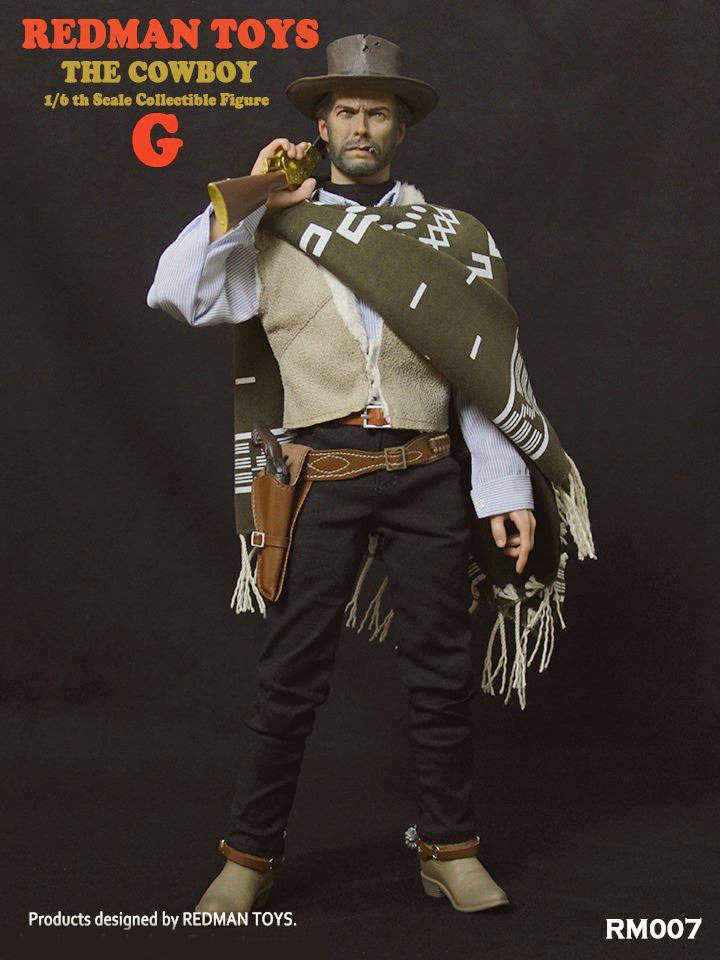 "Cowboy ""GOOD"" Clint Eastwood 1/6 Scale Figure by Redman"
