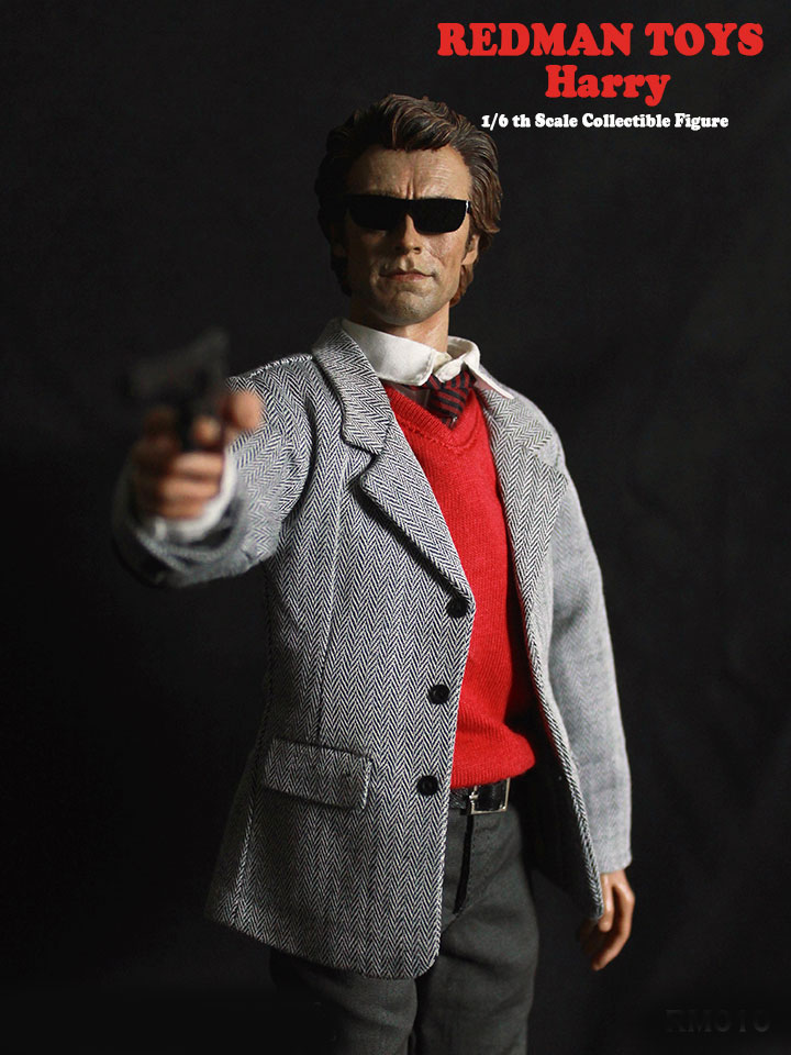 Dirty Harry Clint Eastwood Harry Callahan 1/6 Scale Figure