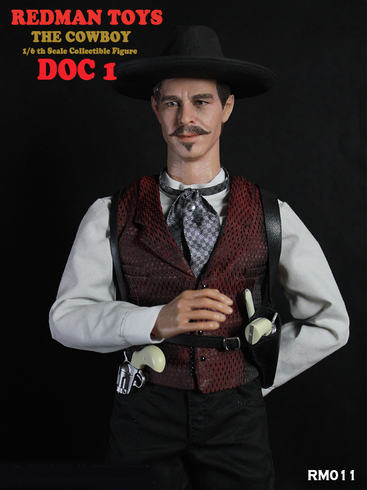 Cowboy Doc Holiday #1 1/6 Scale Collector's Figure