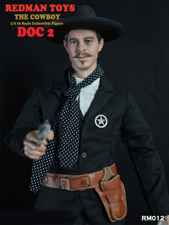 Cowboy Doc Holiday #2 1/6 Scale Collector's Figure