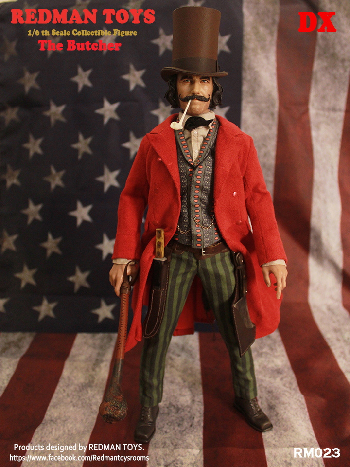 Gangs of New York The Butcher 1/6 Scale Figure by Redman