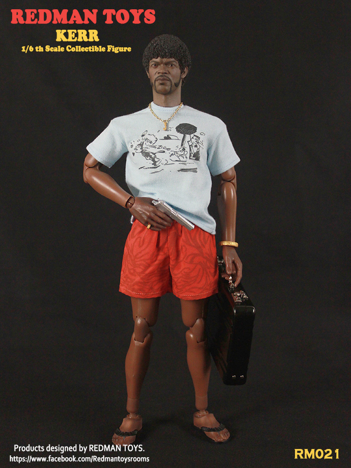 Kerr 1/6 Scale Figure by Redman - Click Image to Close