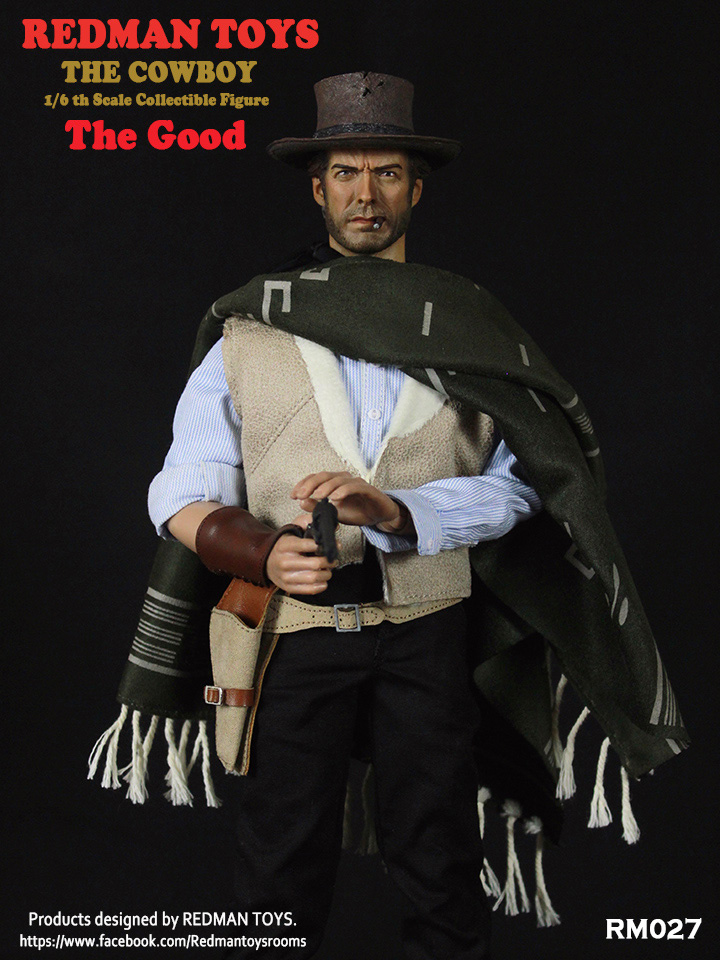 Cowboy GOOD Clint Eastwood 1/6 Scale Figure Re-Issue by Redman