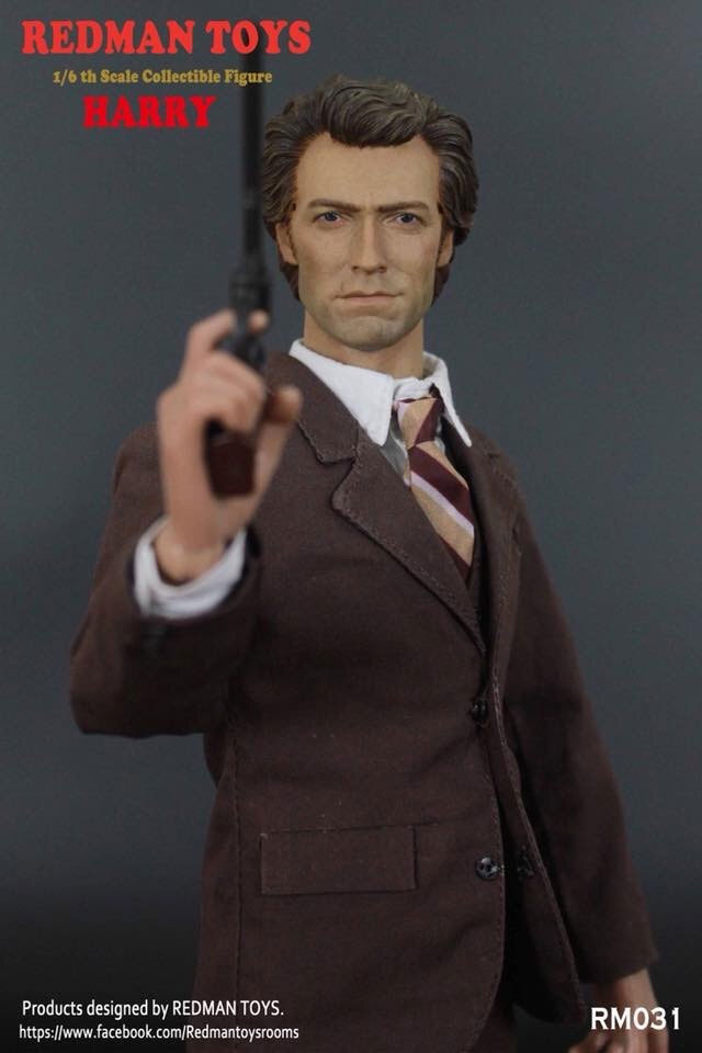 Dirty Harry 1/6 Scale Figure by Redman Inspector Harry