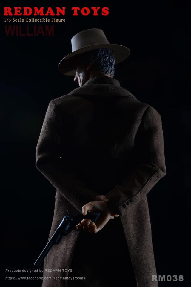 Unforgiven Cowboy William 1/6 Scale Figure by Redman