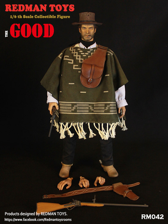 Cowboy The Good 1/6 Scale Figure by Redman Toys RM042