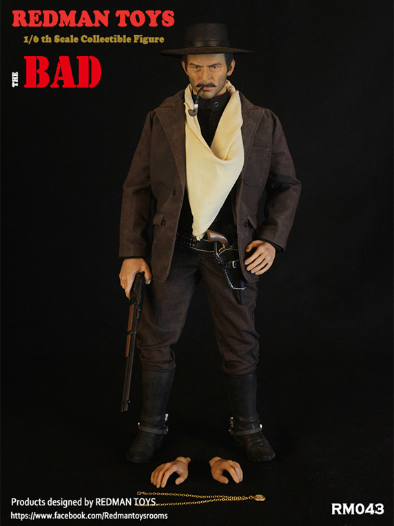 Cowboy The Bad 1/6 Scale Figure by Redman Toys RM043