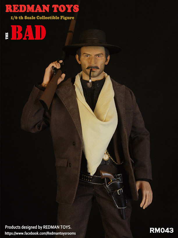 Redman the bad belt 1//6 scale toys Cowboy Western American west