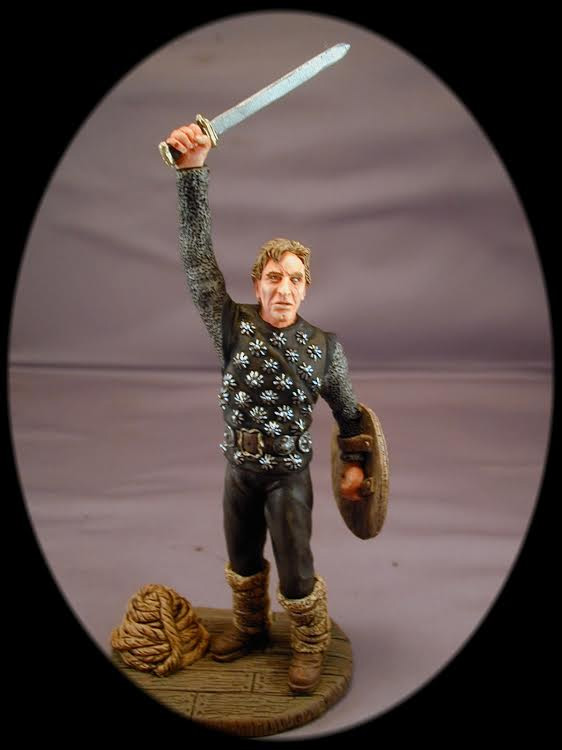 "Vikings 1958 Movie Einar Kirk Douglas 6"" Model Kit"