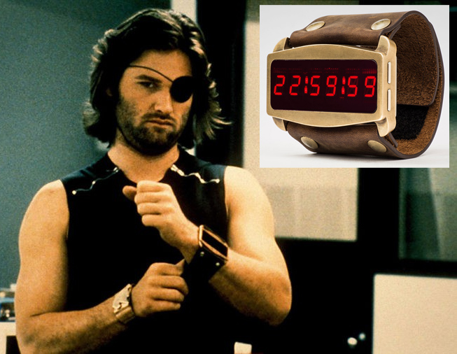 Escape From New York Snake Plissken Lifeclock One Prop Replica