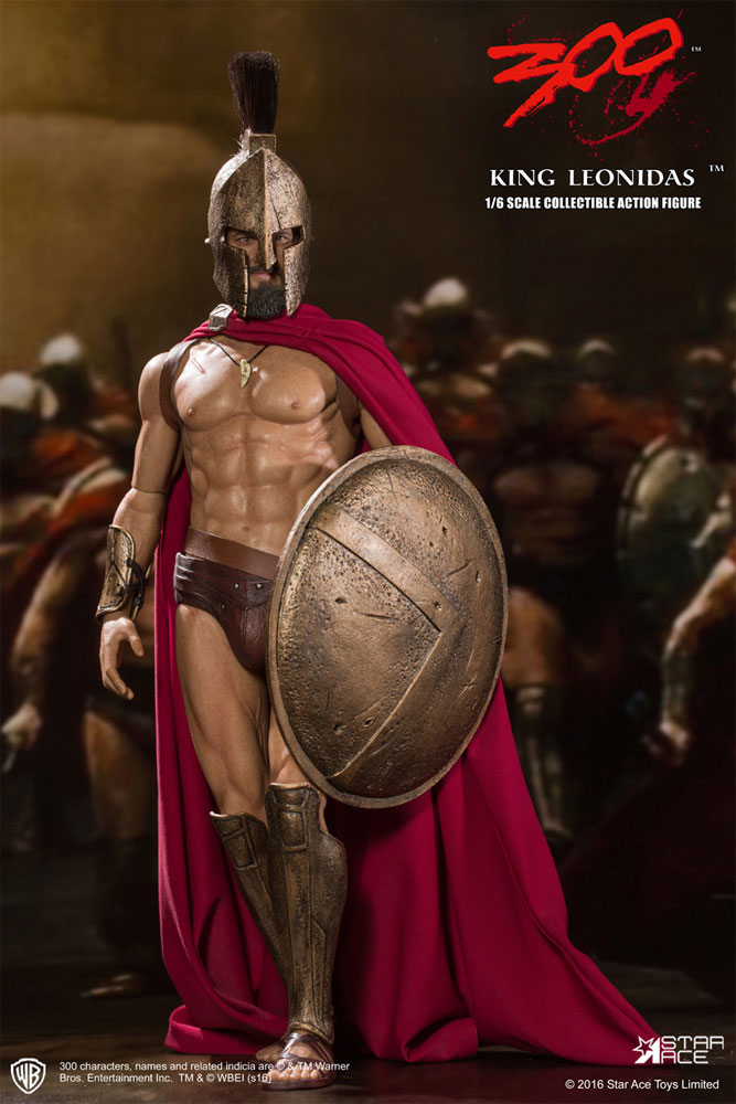 300 King Leonidas 1/6 Scale Figure by Star Ace