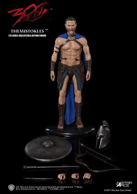 300 Rise of an Empire General Themistokles 1/6 Scale Figure by Star Ace