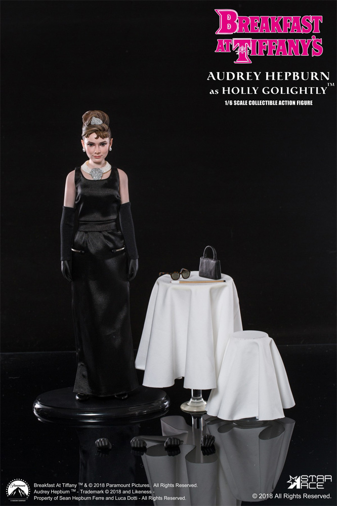 Audrey Hepburn Breakfast at Tiffany's Holly Golightly 1/6 Scale Figure Deluxe Version by Star Ace