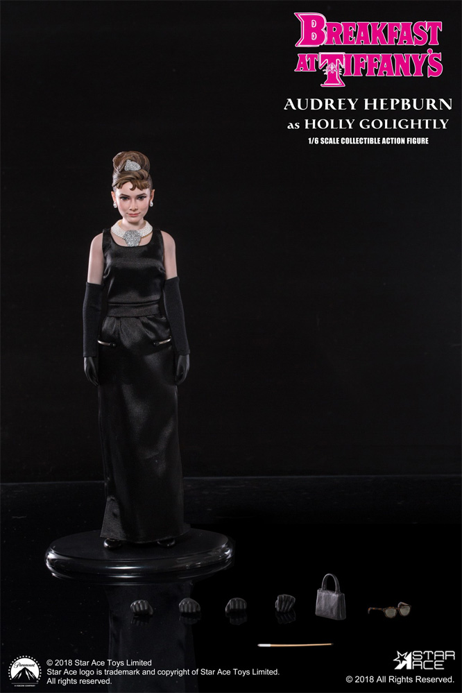 Audrey Hepburn Breakfast at Tiffany's Holly Golightly 1/6 Scale Figure by Star Ace