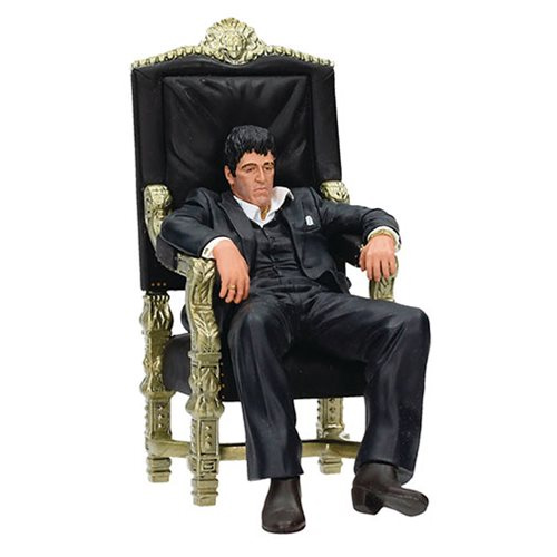 Scarface Tony Montana on Throne 7-Inch Action Figure