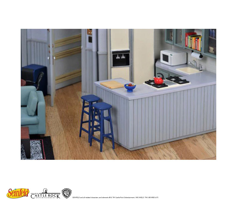 Seinfeld TV Set Scaled Replica Finished Model Jerry Seinfeld