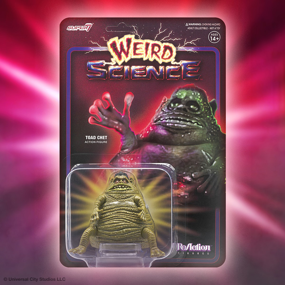 "Weird Science Turd Monster Toad Chet 3.75"" Reaction Figure"