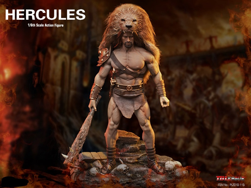Hercules 1/6 Scale Figure by TBLeague