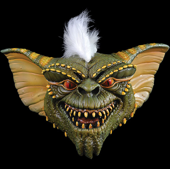 Gremlins Stripe Adult Latex Pullover Halloween Mask