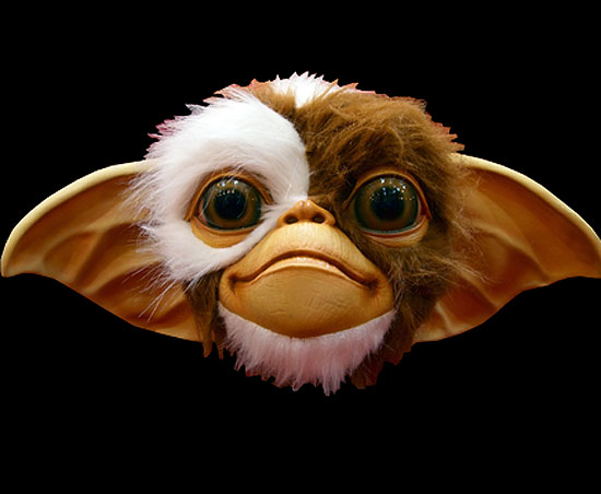 Gremlins Gizmo Adult Latex Pullover Halloween Mask