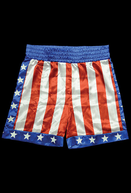 Rocky Apollo Creed Boxing Trunks Prop Replica