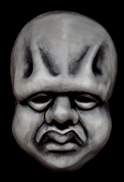 Twilight Zone Wilfred Harper Jr. Vacuform Mask Replica