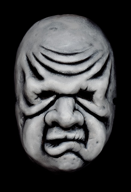 Twilight Zone Wilfred Harper Vacuform Mask Replica