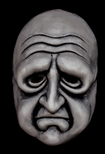 Twilight Zone Paula Harper Vacuform Mask Replica