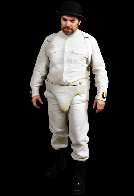 Clockwork Orange Droog Costume Replica