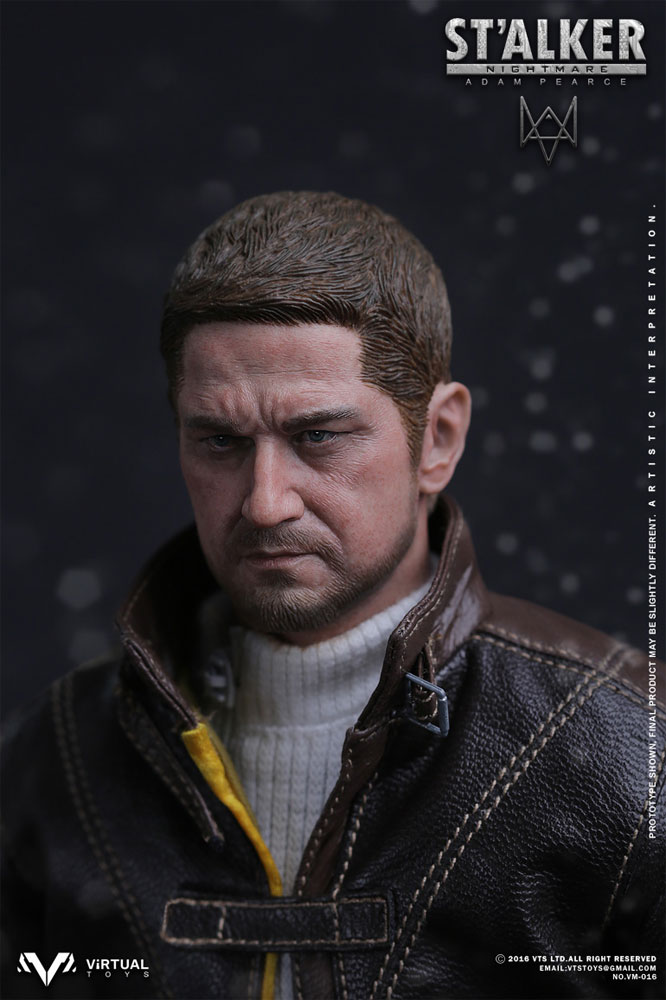 1//6 scale Nightmare Stalker from The Division White Sweater