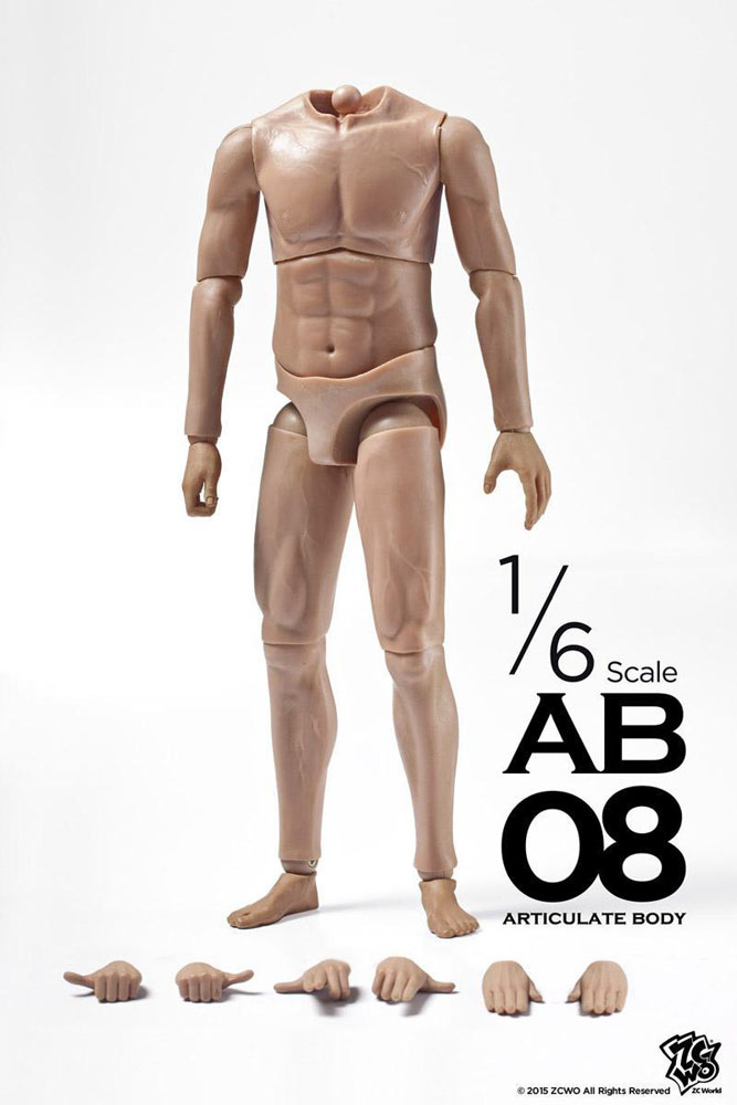 Male Body 1/6 Scale Figure by ZC World