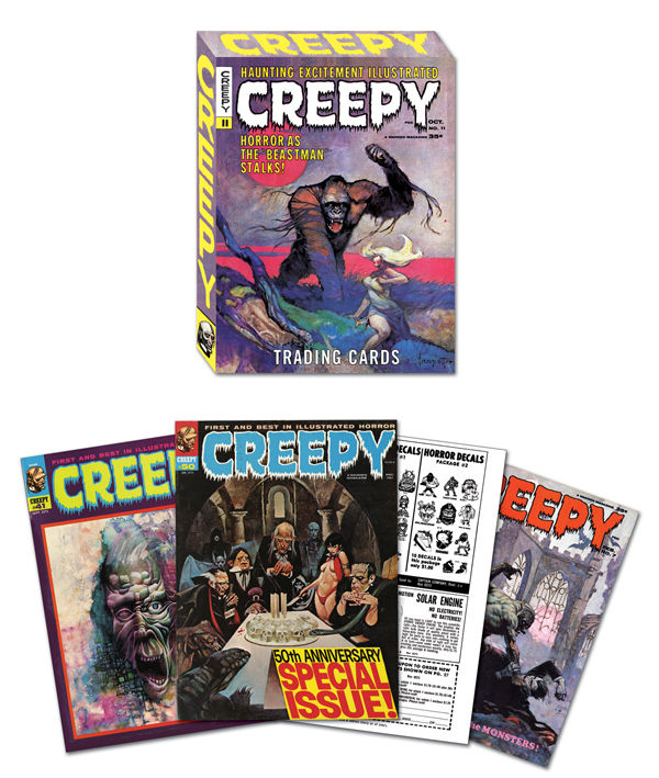 Creepy Trading Cards By Creepy Magazine