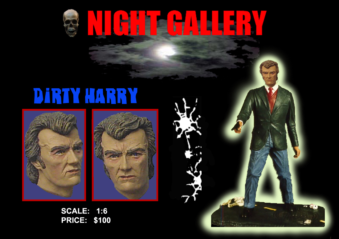 Dirty Harry 1/6 Scale Resin Model Kit