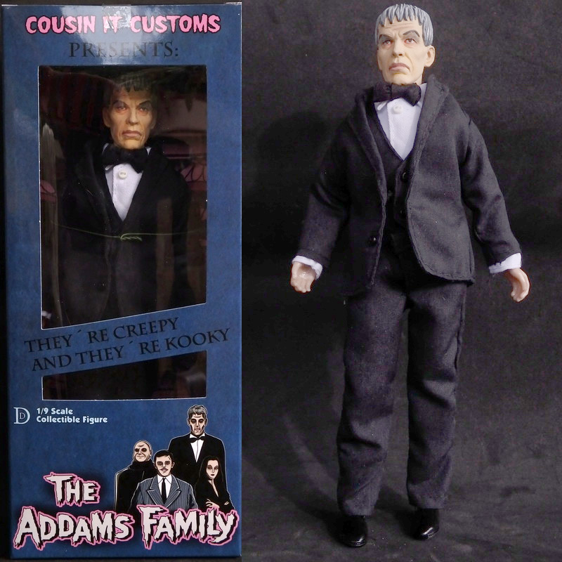 "Addams Family Lurch 8"" Retro Style Action Figure COLOR Version"