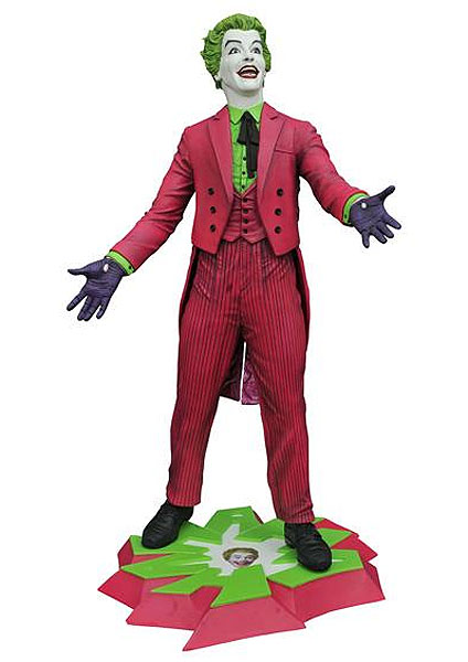 Batman 1966 The Joker Premier Collection Statue