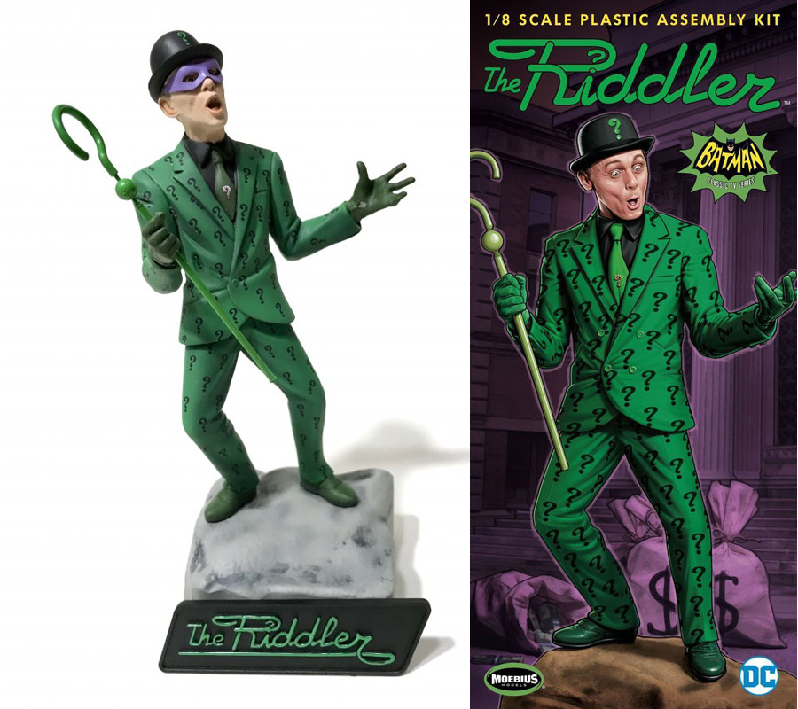 Batman 1966 Riddler Frank Gorshin 1/8 Scale Model Kit