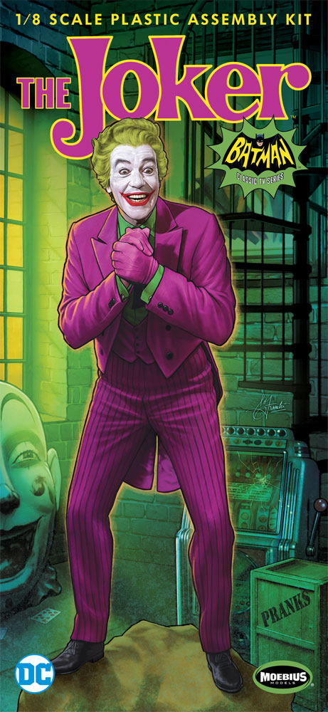 Batman 1966 Joker Cesar Romero 1/8 Scale Model Kit
