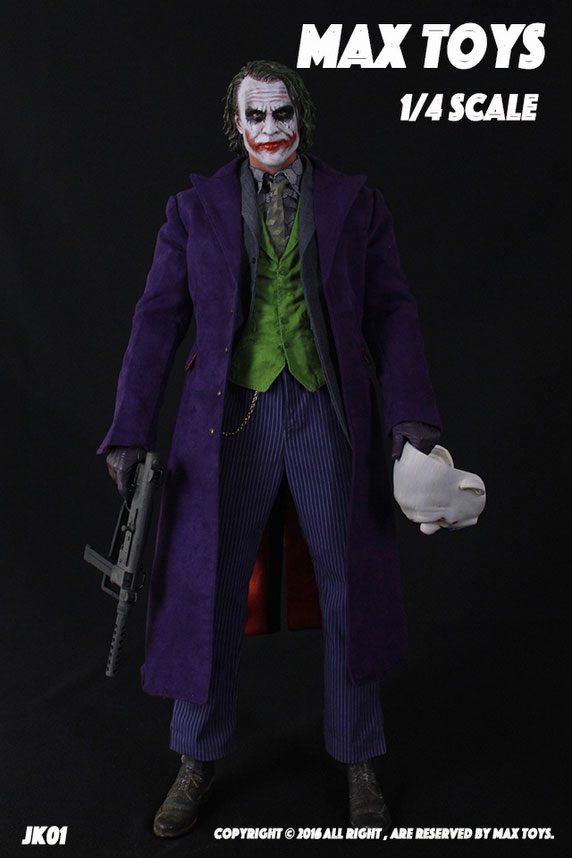 Joker 1/4 Scale Figure Clothes and Accessories Set by Max Toys
